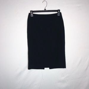 Body By Victoria Black Pencil Skirt Size 0